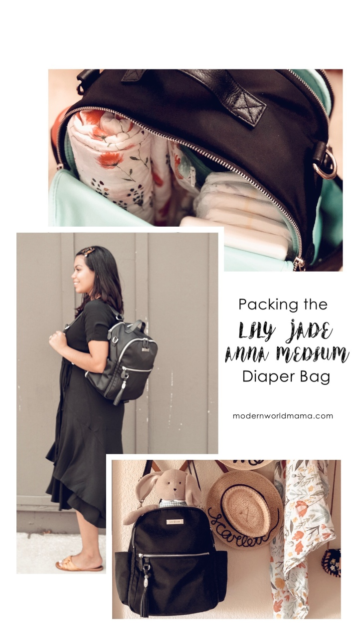 Packing The Lily Jade Anna Diaper Bag