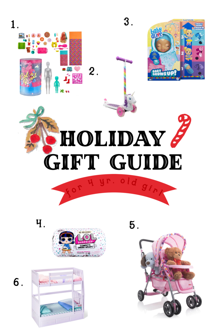 Holiday Gift Guide For A Girl 4+