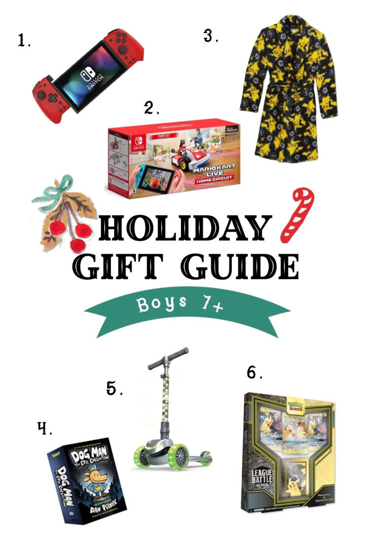 Holiday Gift Guide For Boys 7+